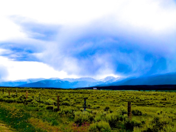 The Road to Leadville CO
