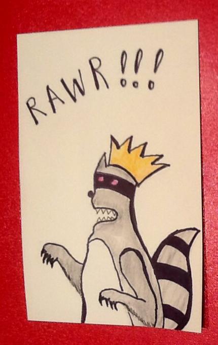The Fierce Raccoon King